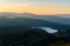 Sunrise over Iron Mountain San Diego CA [OC] [4896 x 3264]