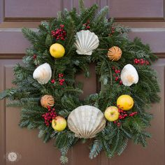 THREE LITTLE KITTENS BLOG | 25 Days of Christmas Wreaths - Day 24
