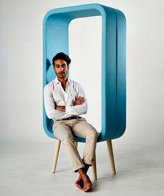 Frame Chair by Ola Giertz. Designed for Materia.