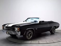 Chevrolet Chevelle SS with her top down, need I say more?