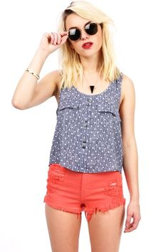 Razzled Tank Top | Cute Tops at Pink Ice #tanktops #springtops #pinkice