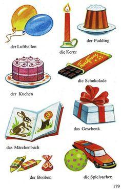 Süßigkeiten und Geschenke