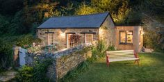 The Libertine Cottage is located in Cornwall, Englandand is available to rent through Unique Home Stays. This lovely little stone cottage was at one time, believe it or not, a pigsty and home to …