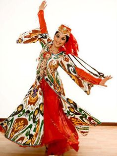 Uzbekistan Folk Dance