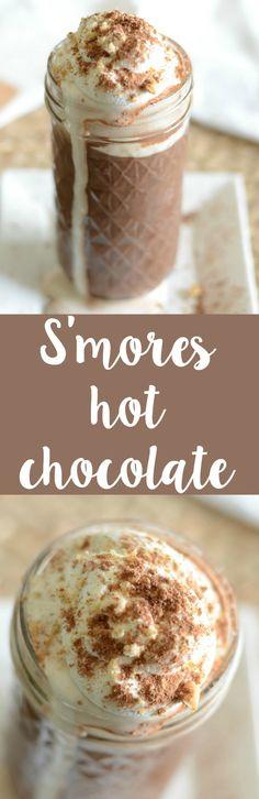 S'mores hot chocolate recipe