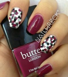 Fishscales nail polish idea.  #1 shopping tip http://GoGetSave.com and get more than just a receipt!