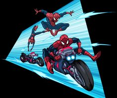 Marvel Infinite Comics: Ultimate Spider-Man 12 by LucianoVecchio.deviantart.com on @DeviantArt