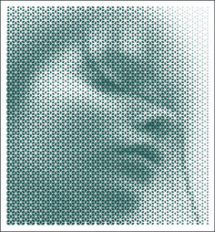 163 RS  Added by Csiby Zsolt Laser Art, 3d Laser, 3d Folie, Optical Illusion Tattoo, Halftone Pattern, Moraira, Parametric Design, Graphic Artwork, Generative Art