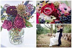 Podzimní rustikální svatba