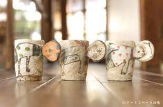 アートスペース油亀企画展「珈琲のための器展ーうつわの数だけ、味がある。ー」より