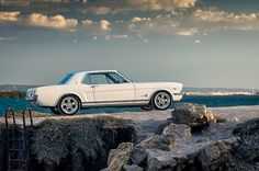 Just old Mustangs: musclecarblog:  Ford Mustang 1966 by moisseyev.com...