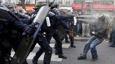 Fransa İçişleri Bakanı: Polis yorgun düştü