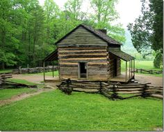 John Oliver Place; Cades Cove, Great Smoky Mountains National Park, Tennessee