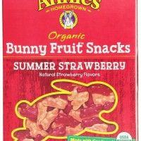 Annie's Organic Bunny fruit snacks……..