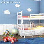 Idei pentru amenajarea dormitorului pentru baietei