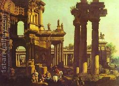 Ruins of a Temple by Canaletto  Discover the coolest shows in New York at www.artexperience...