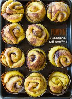 Pumpkin-cinnamon-roll-muffins
