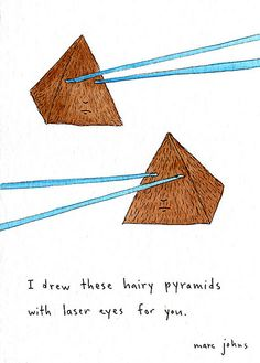 hairy pyramids with lasers | Flickr - Photo Sharing!