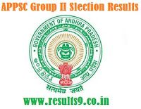 APPSC Group II selection Results 2013
