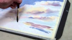 How to Paint a Watercolor Sky With Clouds — The Art League School
