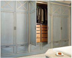 concept idea for guest room closet doors