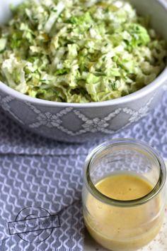 Sos miodowo-musztardowy do sałatek – Smaki na talerzu Guacamole, Cantaloupe, Mexican, Fruit, Ethnic Recipes, Salads, The Fruit