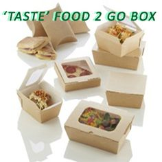 Hot Food Boxes – 'Taste' range the innovative Take away Packaging In the takeaway business, it can be difficult to keep your food in its best condition for the customer. Choosing the wrong container to put y