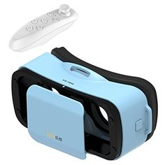 Mini 3D VR GlassesHeadset Tsanglight Virtual Reality Headset  Remote Controller for IOS iPhone 766S Plus Android Samsung Galaxy S7 Edge S76 J7A5A3 2016  Other 4555 Cellphone  Blue >>> Be sure to check out this awesome product.Note:It is affiliate link to Amazon.