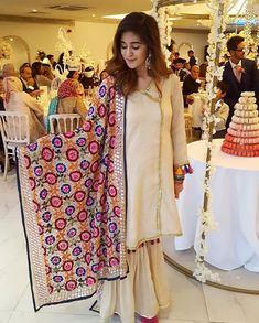 Image may contain: 6 people, people standing Stylish Dresses, Casual Dresses, Fashion Dresses, Casual Wear, Girls Dresses, Traditional Fashion, Traditional Outfits, Pakistani Outfits, Indian Outfits