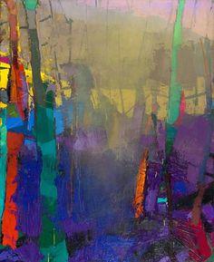 Nine Bark, 2015 - Brian Rutenberg (b. 1965)