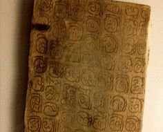 Previously unknown Mayan Codex recently discovered.