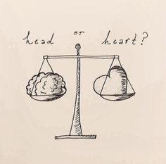 #headorheart