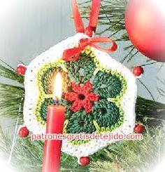 Adornos de Navidad al Crochet / Tutorial   Crochet y Dos agujas