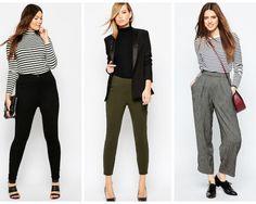 Pantalonii cu talie inalta: cum se poarta si pe cine avantajeaza