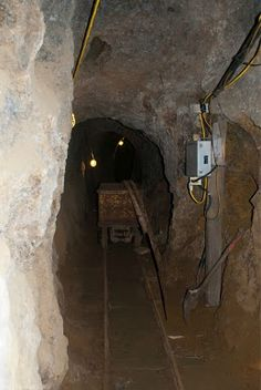 Inside the Smuggler Mine, Aspen CO. what year is it? Photo by Toni Case.