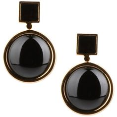 Marc By Marc Jacobs Earrings ($71) ❤ liked on Polyvore featuring jewelry, earrings, black, marc by marc jacobs earrings, earrings jewelry, marc by marc jacobs and marc by marc jacobs jewelry
