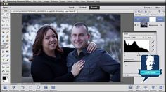 Removing a Double Chin in Photoshop Elements. Saving for later.