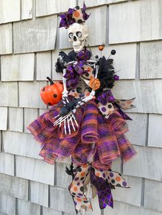Your place to buy and sell all things handmade Halloween Deco Mesh, Halloween Table, Diy Halloween Decorations, Fall Halloween, Halloween Crafts, Happy Halloween, Halloween Wreaths, Halloween Ideas, Halloween 2019
