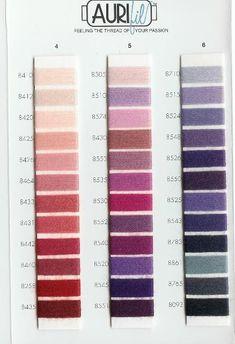 aurifil thread wool color chart - Aurifil Thread Color Chart
