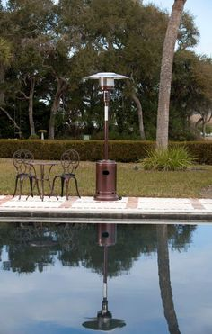 A Portable Fire Sense Table Top Patio Heater Provides Warmth For Outdoors.  From The Experts At DIYNetwork.com. | Bathroom Ideas | Pinterest | Tops, ...