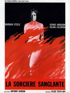 """aka """"Long Hair of Death"""".  Cool sets, atmospheric photography and Babs are the only reason to check out this lessor Italian gothic.  Story is a piffle. Raro's blu isn't all that impressive, but it's better than previous releases."""
