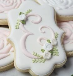 @shopthewhisk...monogram cookies