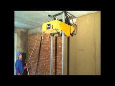 Máquina de reboco - Dois M2 em 20 segundos:  Máquina para rebocar paredes que dispensa chapisco e emboço. O revestimento já sai acabado, e seu funcionamento é automático. Confira esta inovação.
