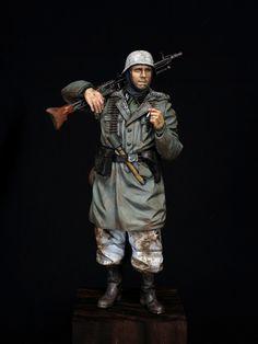WW2 ドイツ 武装親衛隊 機関銃手 (Alpine Miniatures,1/16) (ページ 1) / 単品(AFV,エアクラフト,艦船,フィギュア,他) / JAPANミリテールフォーラム