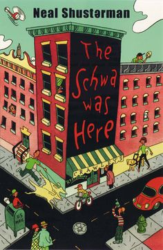 The Schwa Was Here - a great book for middle schoolers. With humor and impressive voice, Shusterman tells a great, and somewhat odd, story of friendship and identity.