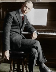 Sergei Sergeyevich Prokofiev - Russian composer, pianist and conductor who mastered numerous musical genres and is regarded as one of the major composers of the 20th century.