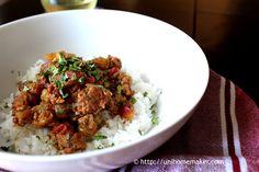 Pork Picadillo #recipe #pork #picadillo via unihomemaker.com