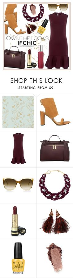 """IfCHIC welcomes spring !!"" by jckallan ❤ liked on Polyvore featuring Timorous Beasties, IRO, McQ by Alexander McQueen, Steven Alan, DIANA BROUSSARD, Gucci, Louis Vuitton, OPI, Apothia and dress"