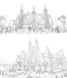 ArtStation - ECT Artworks ( sketch ), REPUBLIC OF iAKi