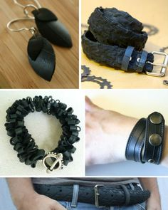 25 Items Made from Reclaimed & Recycled Tires